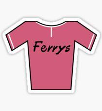 Retro Jerseys Collection - Ferrys Sticker