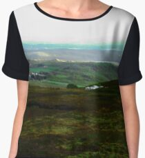 The view from Horne Head, Donegal, Ireland Women's Chiffon Top