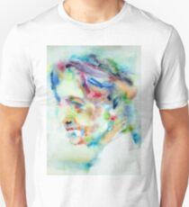 JIDDU KRISHNAMURTI - watercolor portrait Unisex T-Shirt