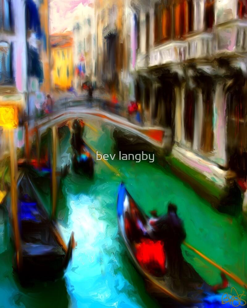 Venice I Wish by bev langby