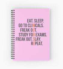 Hospice Worker Spiral Notebooks   Redbubble