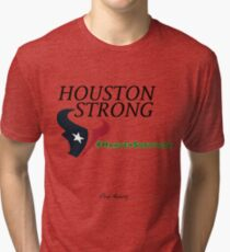 Houston Strong Harvey Survivor Tri-blend T-Shirt