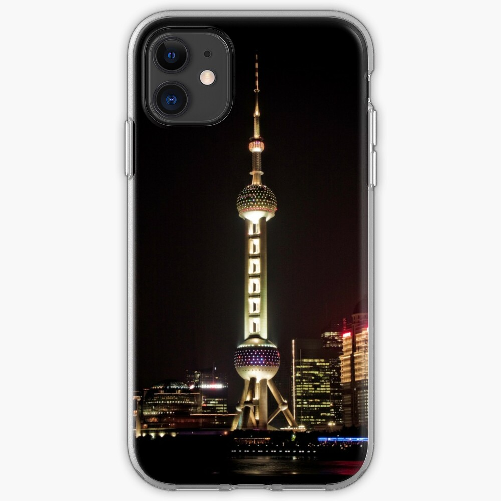 Oriental Pearl TV Tower. iPhone Case & Cover