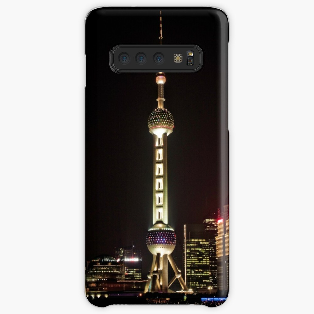 Oriental Pearl TV Tower. Cases & Skins for Samsung Galaxy