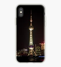 Oriental Pearl TV Tower. iPhone Case