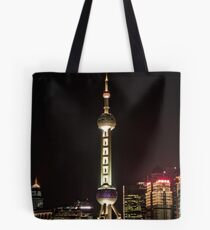 Oriental Pearl TV Tower. Tote Bag