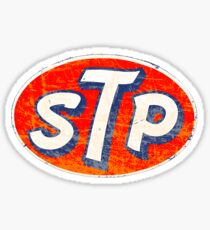 STP racing additives Sticker