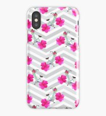 Pedal Pusher Print iPhone Case/Skin