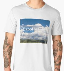Cool Beans Clouds Men's Premium T-Shirt