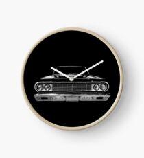 1964 Chevy Chevelle - black Clock