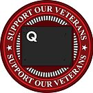 Support Our Veterans: Quantrill Design 3 by keytesvillemerc