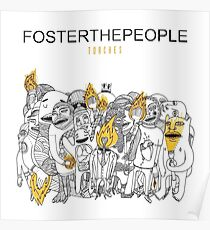 Foster the People - Torches Album Cover Poster