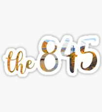 The 845 Scenery  Sticker