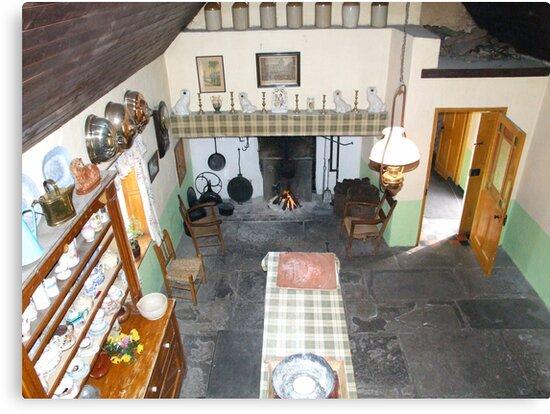 Bunratty kitchen by John Quinn