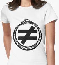 Inequality Logo - Black T-Shirt