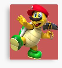 Mario Hammer Brother Canvas Print