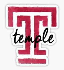 Temple University Sticker