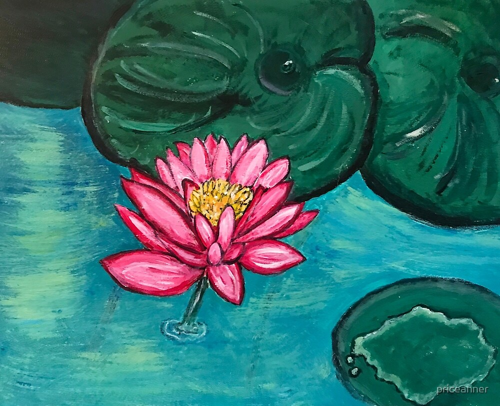 Pretty Water Lily by priceanner