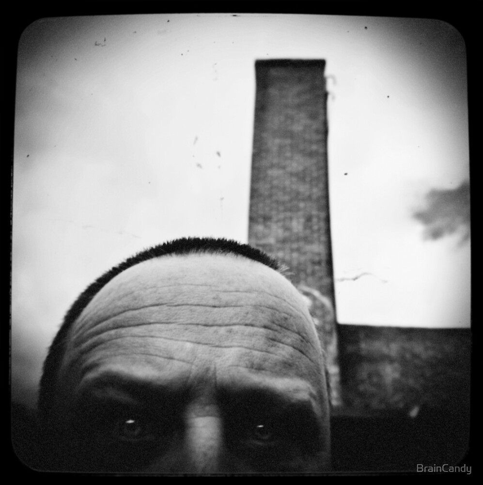 Self with a smoke stack. by BrainCandy
