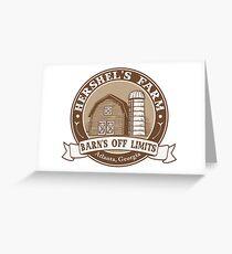 Hershel's Farm Greeting Card