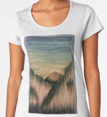Copic Colored Canyon  Women's Premium T-Shirt