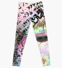 Open your Mind, See with your Heart Leggings
