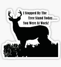 Funny Deer Hunting Sticker