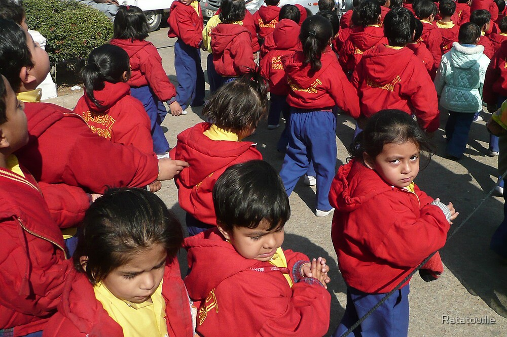 Children in Jaipur by Ratatouille