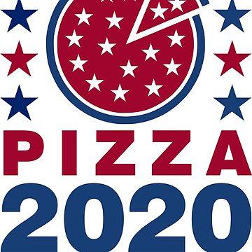 Vote Pizza in 2020 by DavidAyala