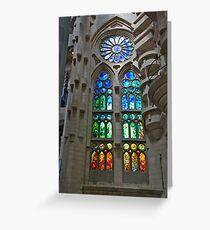 Tarjeta de felicitación Stained Glass Art