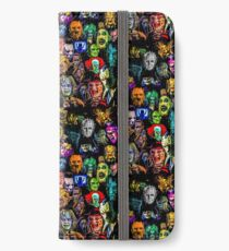 horror collection print mini iPhone Wallet/Case/Skin