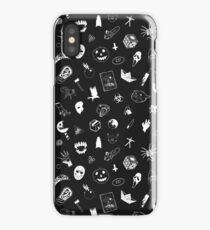 I LOVE HORROR iPhone Case/Skin