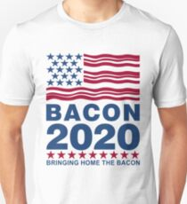 Vote Bacon in 2020 Unisex T-Shirt