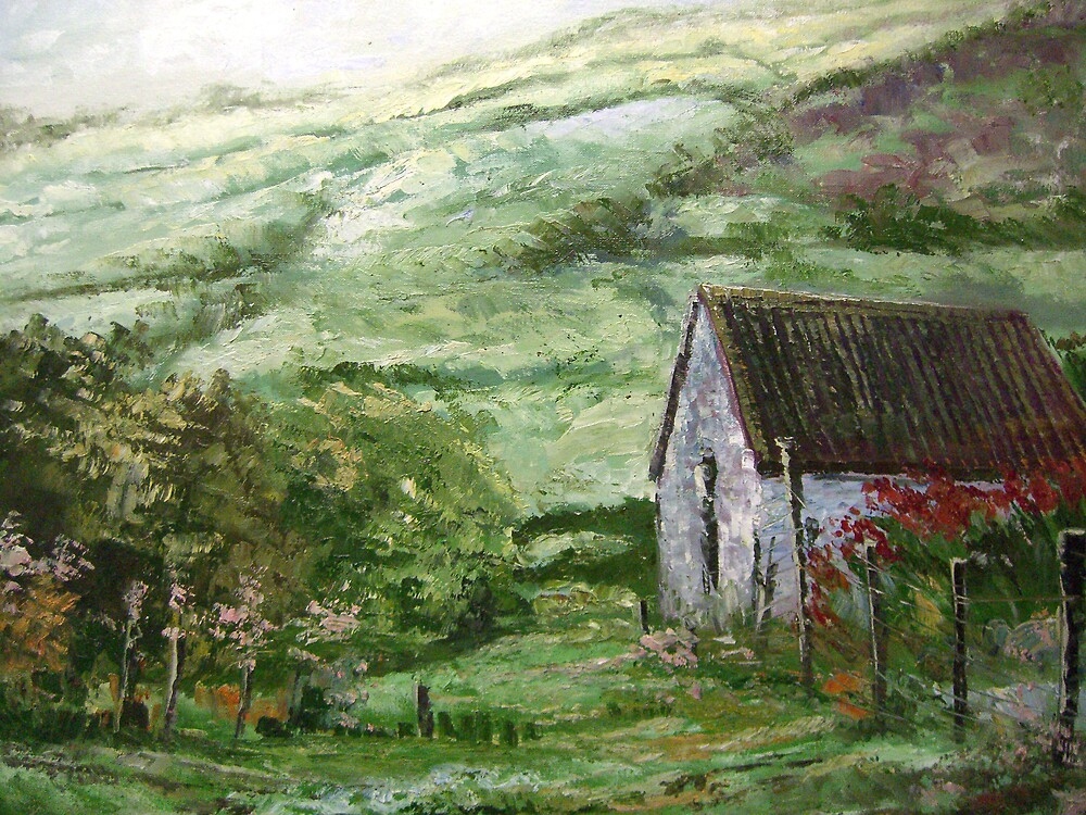 Cottage in the Mournes by eastdowngallery