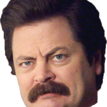Ron Face by lifeasawriter