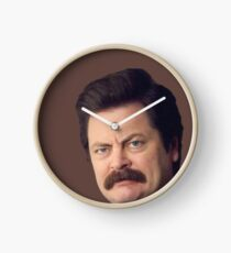 Ron Face Clock