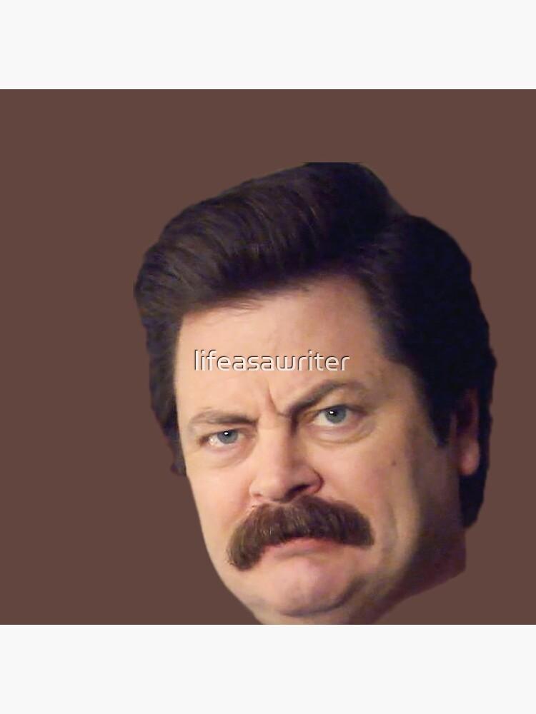 Ron Gesicht von lifeasawriter
