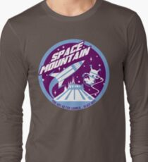 SPACE MOUNTAIN (purple and blue) Long Sleeve T-Shirt