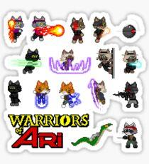 Warriors of Ari - Sticker Sheet Sticker