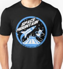 SPACE MOUNTAIN (black and blue) T-Shirt