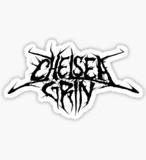 Band Chelsea Grin Logo Black Sticker