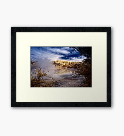 Sacred Water Framed Print
