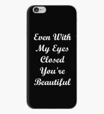 Eyes Closed iPhone Case