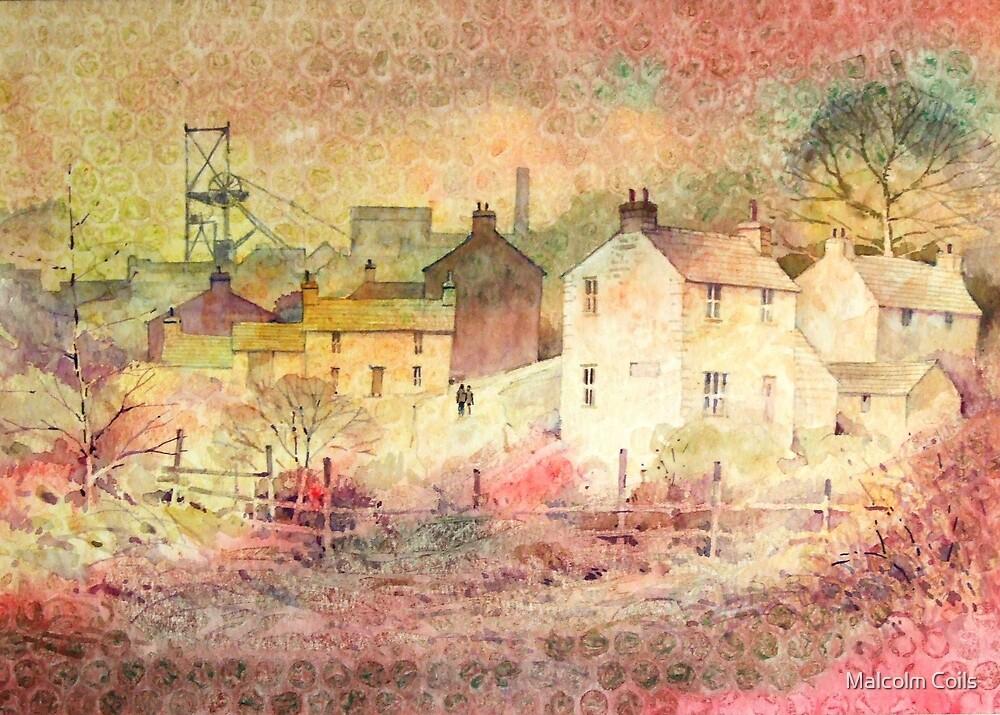 Durham Mining Village by Malcolm Coils