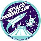 SPACE MOUNTAIN (blues) by clockworkmonkey