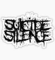 Band Suicide Silence Logo Black Sticker