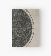 Constellations of the Northern Hemisphere on Vintage Paper Hardcover Journal