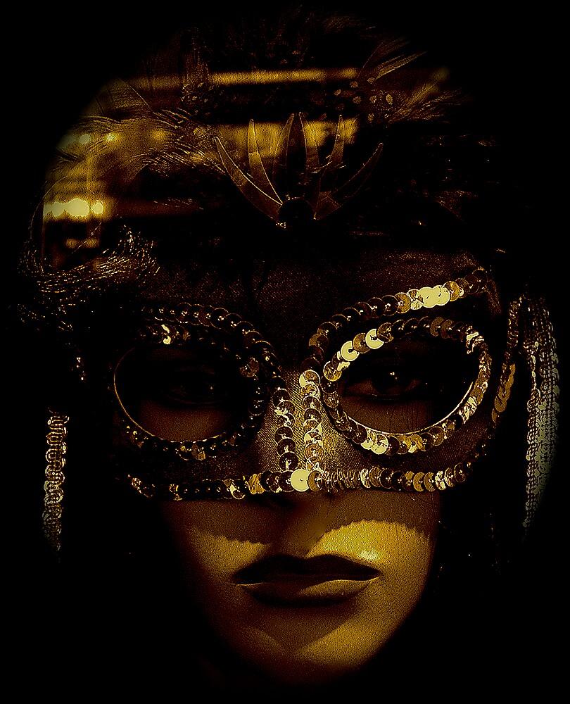 still life with mask  by alfarman