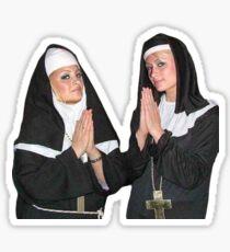 Saint Paris Hilton and Nicole Richie Sticker