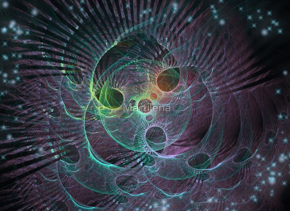 Cosmic wheel by Martilena